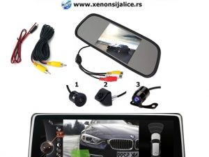 PARKING KAMERA I MONITOR SET 5 INCA MODEL 1