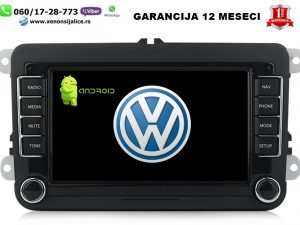 VW MULTIMEDIJA NAVIGACIJA TOUCH SCREEN 7 INCA ANDROID
