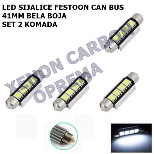 41MM CAN BUS FESTOON LED SIJALICE