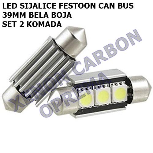 39MM CAN BUS FESTOON LED SIJALICE