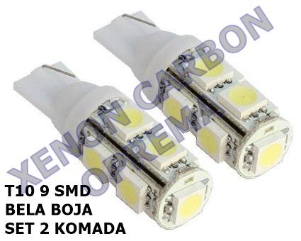 T10 LED SIJALICE 9SMD