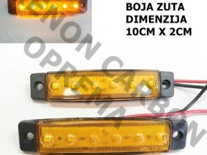 LED GABARIT ZUTI 10CM X 2CM