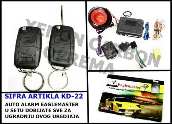 ALARM EAGLEMASTER MODEL KD-22