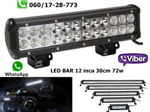 LED BAR 12'' 30CM 72W RADNI BAR WORKING LIGHT RADNO SVETLO