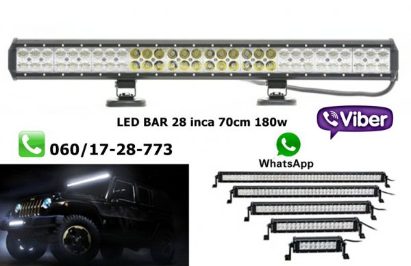 LED BAR 28'' 70CM 180W RADNI BAR WORKING LIGHT RADNO SVETLO