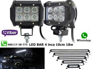 LED BAR 4'' 10CM 18W RADNI BAR WORKING LIGHT RADNO SVETLO