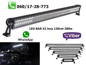 LED BAR 52'' 130CM 300W RADNI BAR WORKING LIGHT RADNO SVETLO