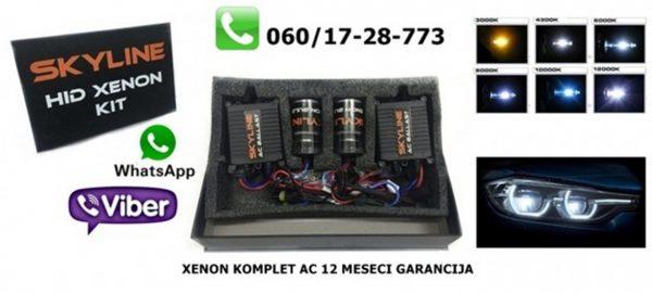 H1 XENON KOMPLET AC TEHNOLOGIJA