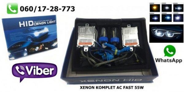 H1 XENON KOMPLET AC TEHNOLOGIJA 55W FAST