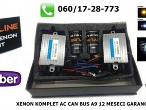 H1 XENON KOMPLET AC CAN BUS A9 TEHNOLOGIJA