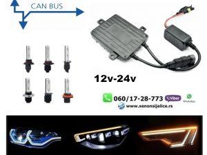 XENON BALAST AC CAN BUS TEHNOLOGIJA SKYLINE UNIVERZALNI 12V-24V