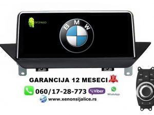 BMW X1 ANDROID MULTIMEDIJA NAVIGACIJA TOUCH SCREEN 10 INCA