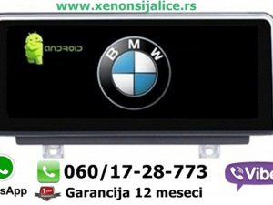 BMW 1 F20 ANDROID MULTIMEDIJA NAVIGACIJA TOUCH SCREEN 10 INCA