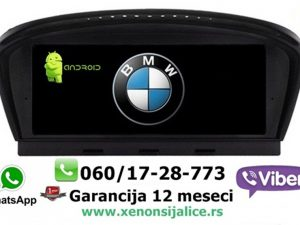 BMW 5 E60 ANDROID MULTIMEDIJA NAVIGACIJA TOUCH SCREEN 9 INCA