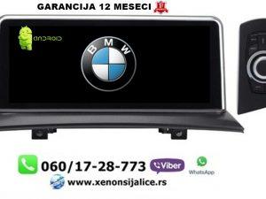 BMW X3 ANDROID MULTIMEDIJA NAVIGACIJA TOUCH SCREEN 10 INCA