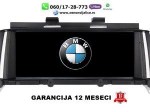 BMW X3 F25 ANDROID MULTIMEDIJA NAVIGACIJA TOUCH SCREEN 10 INCA