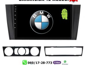BMW 1 ANDROID MULTIMEDIJA NAVIGACIJA TOUCH SCREEN 10 INCA