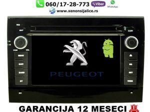 PEUGEOT BOXER MULTIMEDIJA ANDROID NAVIGACIJA TOUCH SCREEN 7 INCA