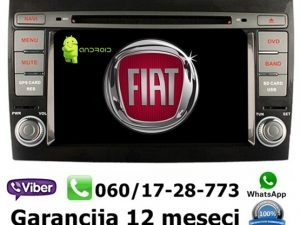FIAT BRAVO MULTIMEDIJA ANDROID NAVIGACIJA TOUCH SCREEN 7 INCA
