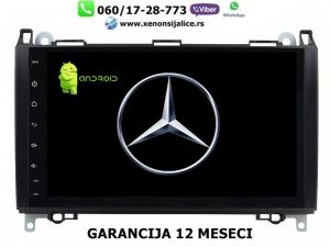 MERCEDES A,B KLASA MULTIMEDIJA ANDROID NAVIGACIJA TOUCH SCREEN 10 INCA