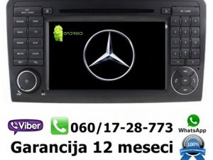MERCEDES ML/GL MULTIMEDIJA ANDROID NAVIGACIJA TOUCH SCREEN 7 INCA