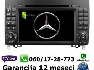 MERCEDES A,B KLASA MULTIMEDIJA ANDROID NAVIGACIJA TOUCH SCREEN 7 INCA