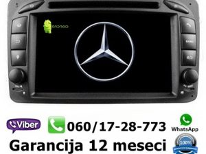 MERCEDES C KLASA MULTIMEDIJA ANDROID NAVIGACIJA TOUCH SCREEN 7 INCA