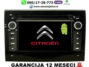 CITROEN JUMPER MULTIMEDIJA ANDROID NAVIGACIJA TOUCH SCREEN 7 INCA