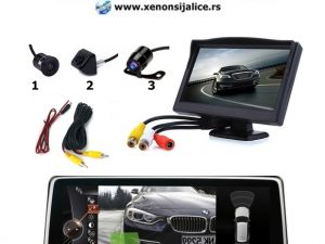PARKING KAMERA I MONITOR SET 5 INCA MODEL 2