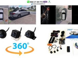 PARKING KAMERE SET 360 STEPENI