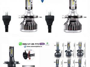 H4 BI LED LED SIJALICE SKYLINE 8000 LUMENA CAN BUS 12V-24V