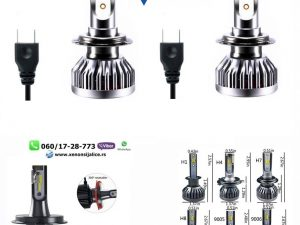 H7 LED SIJALICE SKYLINE 8000 LUMENA CAN BUS 12V-24V