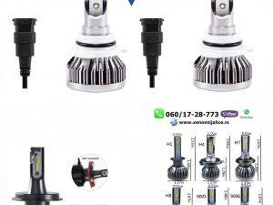HB3 9005 LED SIJALICE SKYLINE 8000 LUMENA CAN BUS 12V-24V