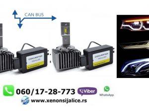 D1S-D1R LED SIJALICE SKYLINE 6000 LUMENA CAN BUS 12V-24V