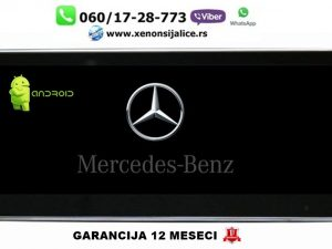 MERCEDES C KLASA W 205 NOVI TIP MULTIMEDIJA ANDROID NAVIGACIJA TOUCH SCREEN 10 INCA