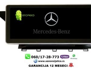 MERCEDES GLK MULTIMEDIJA ANDROID NAVIGACIJA TOUCH SCREEN 10 INCA