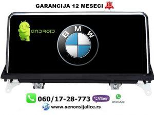 BMW X5 E70,X6 ANDROID MULTIMEDIJA NAVIGACIJA TOUCH SCREEN 10 INCA