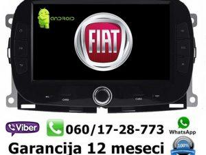 FIAT 500X MULTIMEDIJA ANDROID NAVIGACIJA TOUCH SCREEN 7 INCA