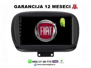 FIAT 500 NOVI TIP,500X MULTIMEDIJA ANDROID NAVIGACIJA TOUCH SCREEN 10 INCA