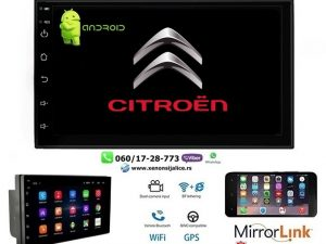 CITROEN C3,BERLINGO MULTIMEDIJA ANDROID NAVIGACIJA TOUCH SCREEN 7 INCA