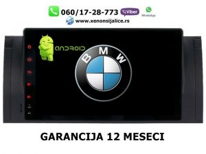 BMW 5 E39 7 E38 X5 E53 ANDROID MULTIMEDIJA NAVIGACIJA TOUCH SCREEN 10 INCA