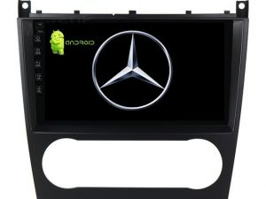 MERCEDES C KLASA MULTIMEDIJA ANDROID NAVIGACIJA TOUCH SCREEN 10 INCA