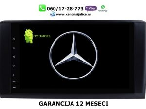 MERCEDES ML/GL MULTIMEDIJA ANDROID NAVIGACIJA TOUCH SCREEN 10 INCA