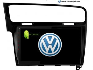 VW GOLF 7 MULTIMEDIJA NAVIGACIJA TOUCH SCREEN 10 INCA ANDROID