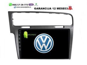 VW GOLF 7 MULTIMEDIJA NAVIGACIJA TOUCH SCREEN 10 INCA ANDROID
