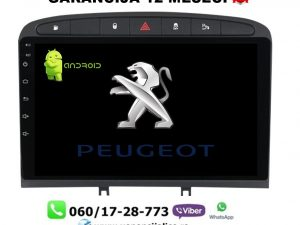 PEUGEOT 308,408,RCZ MULTIMEDIJA ANDROID NAVIGACIJA TOUCH SCREEN 10 INCA