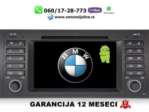 BMW 5 E39 7 E38 X5 E53 ANDROID MULTIMEDIJA NAVIGACIJA TOUCH SCREEN 7 INCA