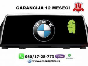BMW 5 F10 ANDROID MULTIMEDIJA NAVIGACIJA TOUCH SCREEN 12INCA