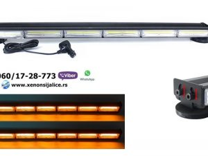 LED ROTACIJA NA MAGNET LED BAR ZUTA